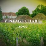 2007年のヴィンテージチャート|ブルゴーニュとボルドー